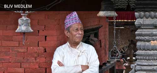 Dansk-Nepalesisk Selskab, Nepal, Hindupræst